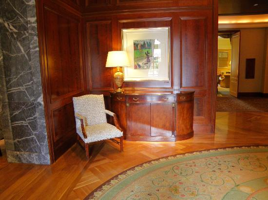 InterContinental Dublin: Reception area