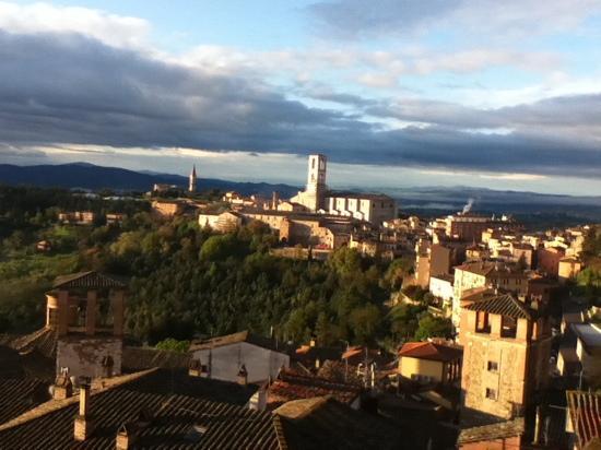 Ostello di Perugia: The view