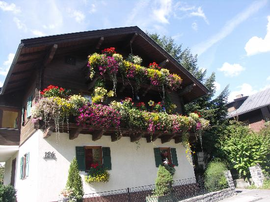 Stubacher Hof: Nice views and houses in the village of Uttendorf