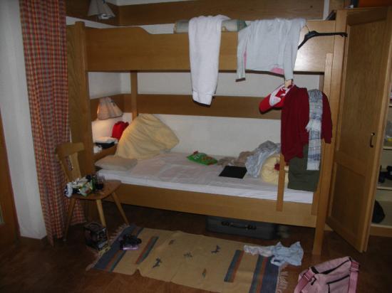 Stubacher Hof: Bunk bed in room 2020