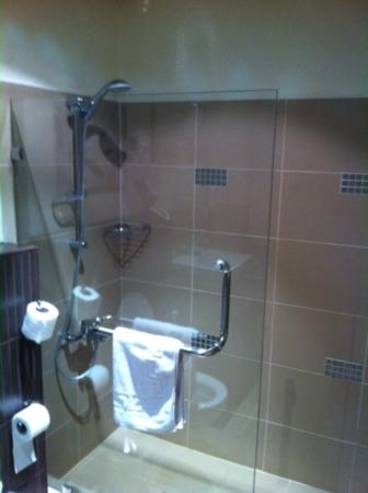 Crystal Hotel : Shower