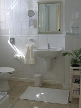 10 Caledon Street Guest House: bathroom with bath and seperate shower