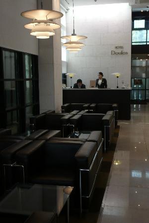 Doulos Hotel: Reception