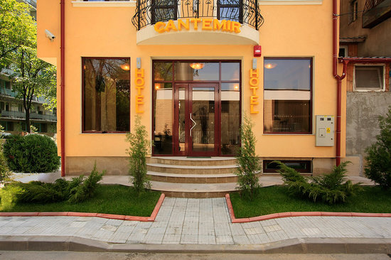 Cantemir Hotel : Entrance