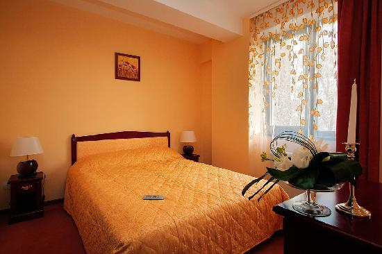 Cantemir Hotel : Queen size bed