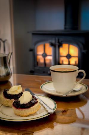 Beera Farmhouse: cream tea