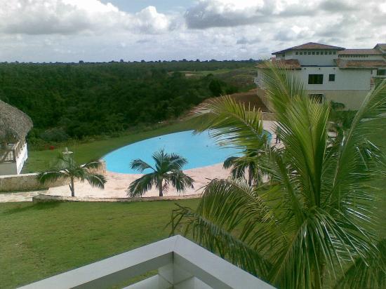 La Estancia Golf Resort : Dal balcone