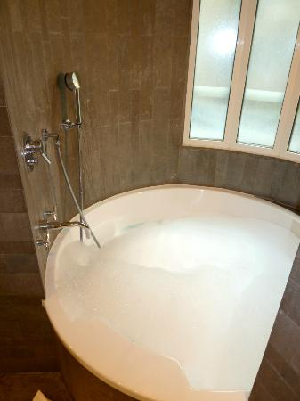 Hotel Sezz Paris: Now THIS is a bath and a shower!