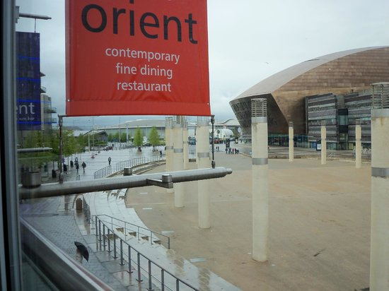 Ba Orient: View from the restaurant
