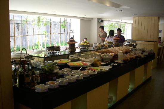Quest Hotel Kuta: Quest Hotel Breakfast Buffet Menu