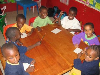 Class room at  Wa Salama