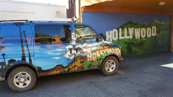 Legend Hotel Hollywood: Den lille port ind