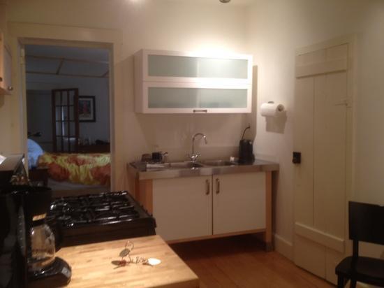The Canal Park Inn : cuisine Batby suite