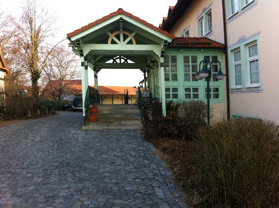 Hotel Linderhof: Reception /Entrance