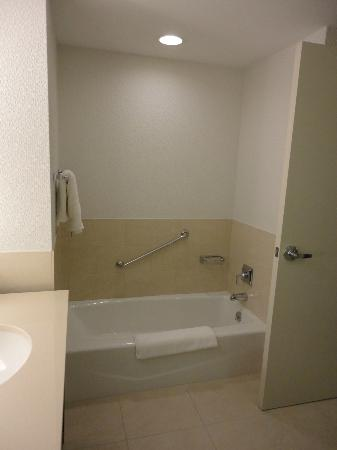 Westin Tampa Bay: The shallowest bath ever!