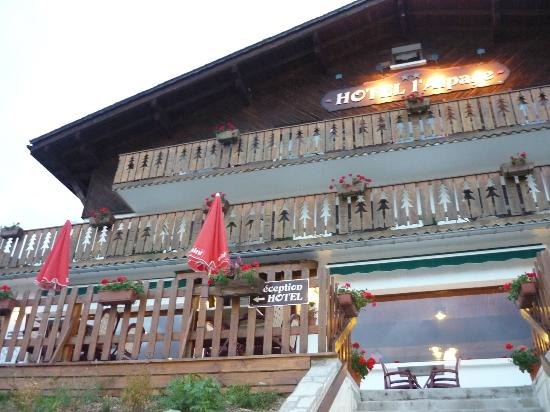 Hotel Restaurant l'Alpage: L'hôtel