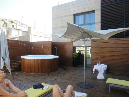 Terrasse Jacuzzi Bild Von Eurostars Bcn Design Barcelona
