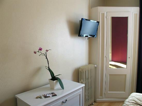L'esperance Deauville: Hotel room