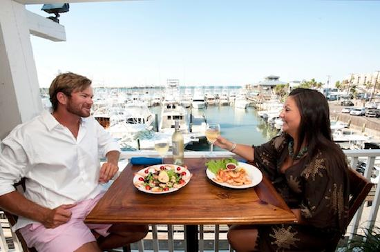 Port Aransas, TX: Hanging out and eating waterside in Port A