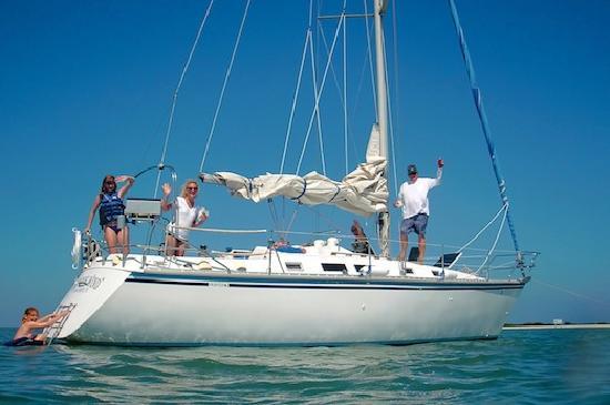 Sailing Port Aransas