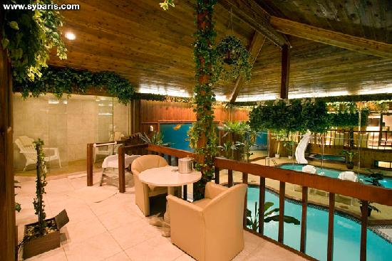 Sybaris Northbrook: CHALET SWIMMING POOL SUITE