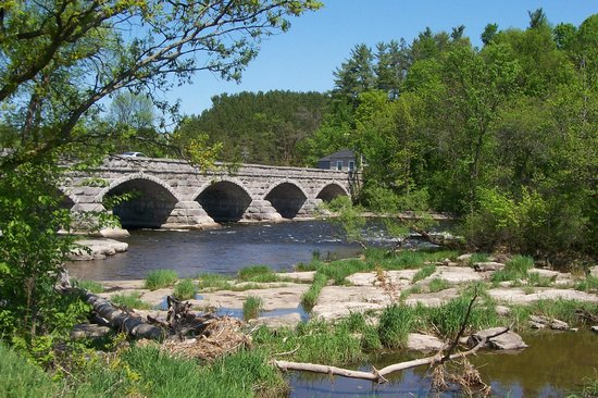 Historic Five Span Stone Bridge