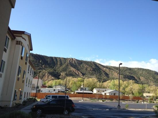 Comfort Inn & Suites : beautiful mountain views