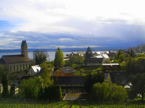 Hotel Villa Seeschau am Bodensee: This is the view from room #12.
