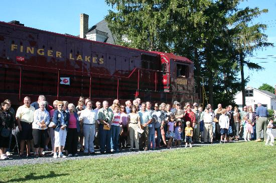 Lagos Finger, estado de Nueva York: Victor Railroads - Finger Lakes, NY