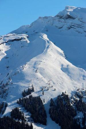 Chilly Powder: The runs above the chalet