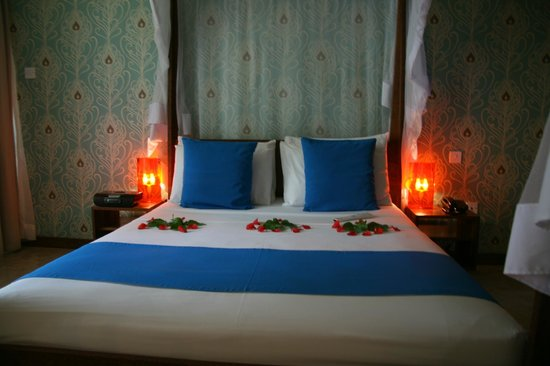 The Z Hotel Zanzibar: Every day different flower arrangements