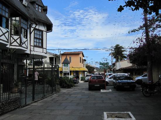 Casa da Pedra: Corner location