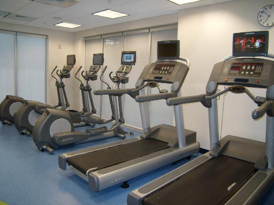 SpringHill Suites Miami Downtown/Medical Center: salle de sport