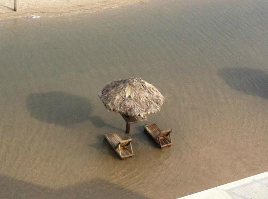 Radisson Hotel Corpus Christi Beach: Après l'orage !
