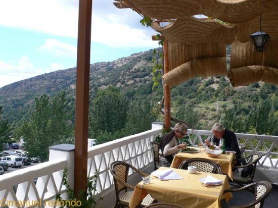 Ruta del Mulhacen: Terrasse Ruta del Mulhacen