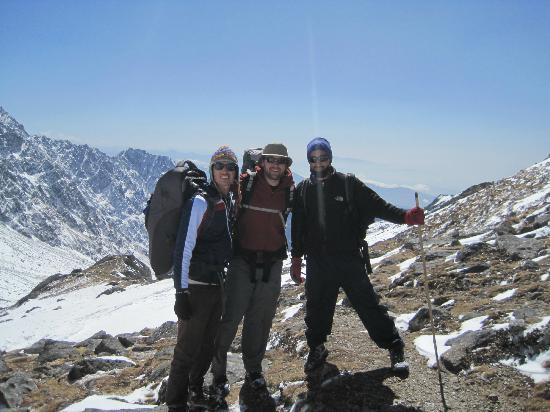 Kathmandu, Nepal: Langtank with Ramesh