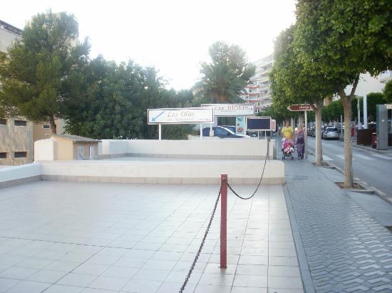 Restaurante Las Olas: Street View