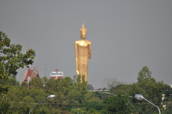 Roi Et, Thailand: Taken from balcony