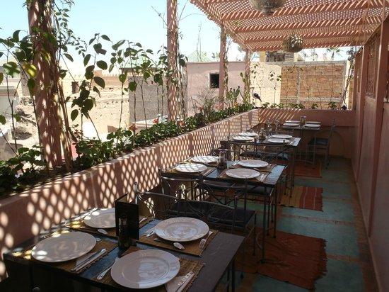 Casa Saada : la terrasse
