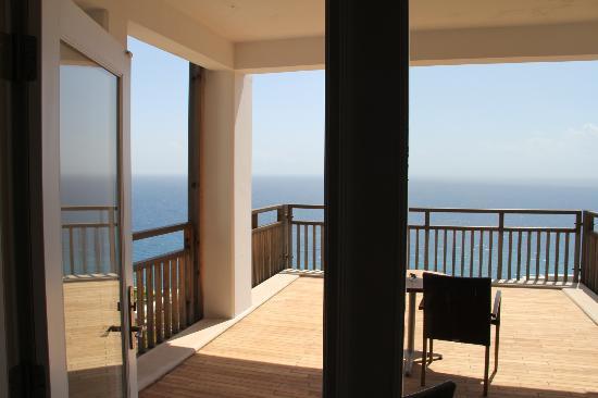 Kempinski Hotel Barbaros Bay: Blick vom Balkon auf das Meer