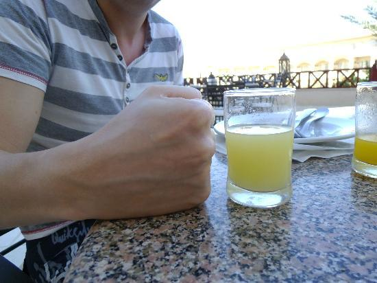 Royal Albatros Moderna Sharm el-Sheikh: This is the size of the glasses they have!