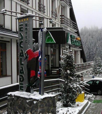 Hotel Escalade Poiana Brasov: Entrance