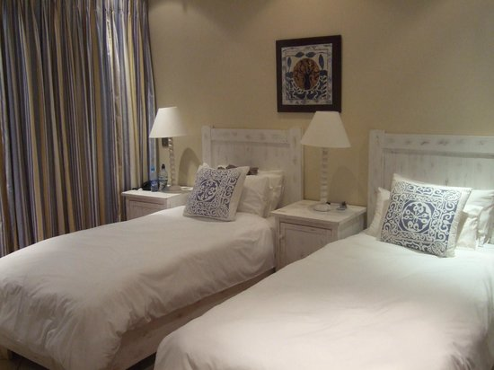 Starfish Guest Lodge: Ground floor twin room