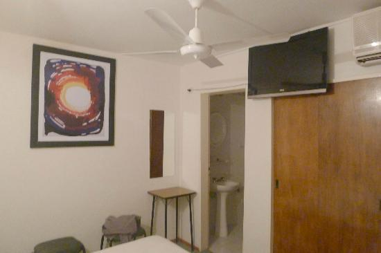 Hotel Ananque: New TV and AC unit