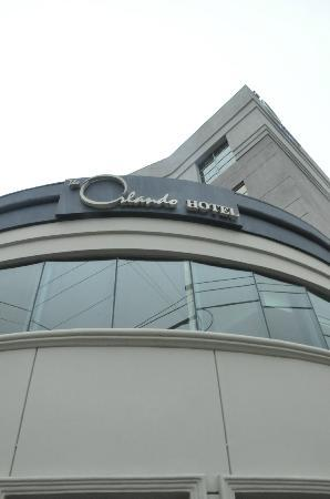 The Orlando Hotel: Facade of Orlando