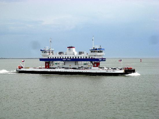 Galveston - Port Bolivar Ferry: The Ferry