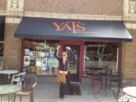 Yats on College: My daughter Beth at Yats