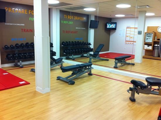 Sheraton Milwaukee Brookfield Hotel: Strength and stretching room
