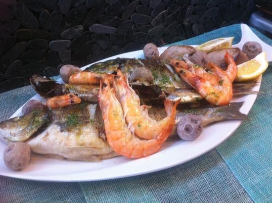 las piratas: Taste of the Ocean for 2 person
