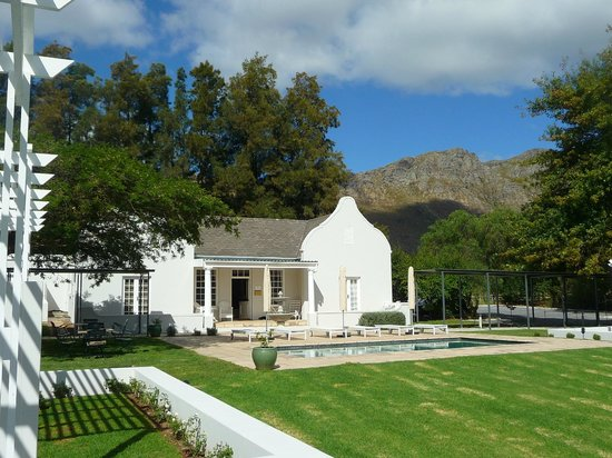 Lavender Farm Guest House Franschhoek: View from Room 10